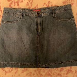 Jean skirts, in great condition!